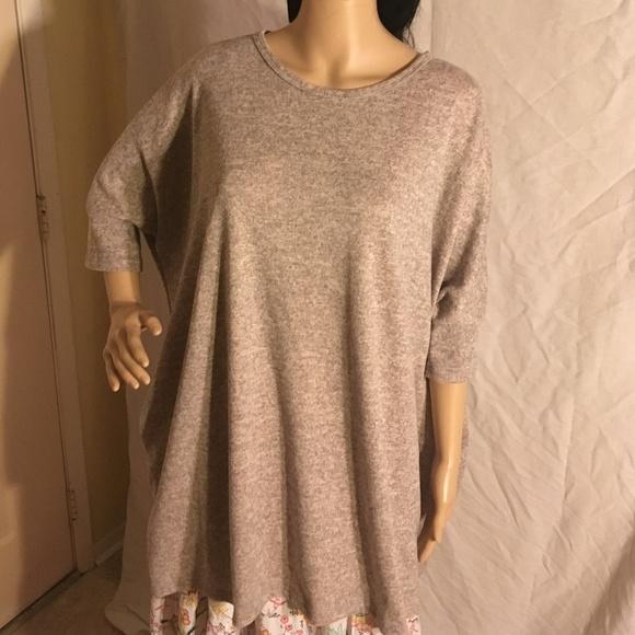 96a628edeae5 Riah Fashions Tops | Riah Fashion Tunic With Pockets Gray Size Xl ...